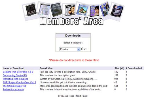 download website marker
