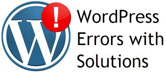 WordPress error solution quick delivery
