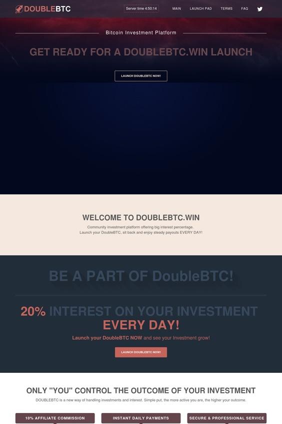 Double Bitcoin Script 2018