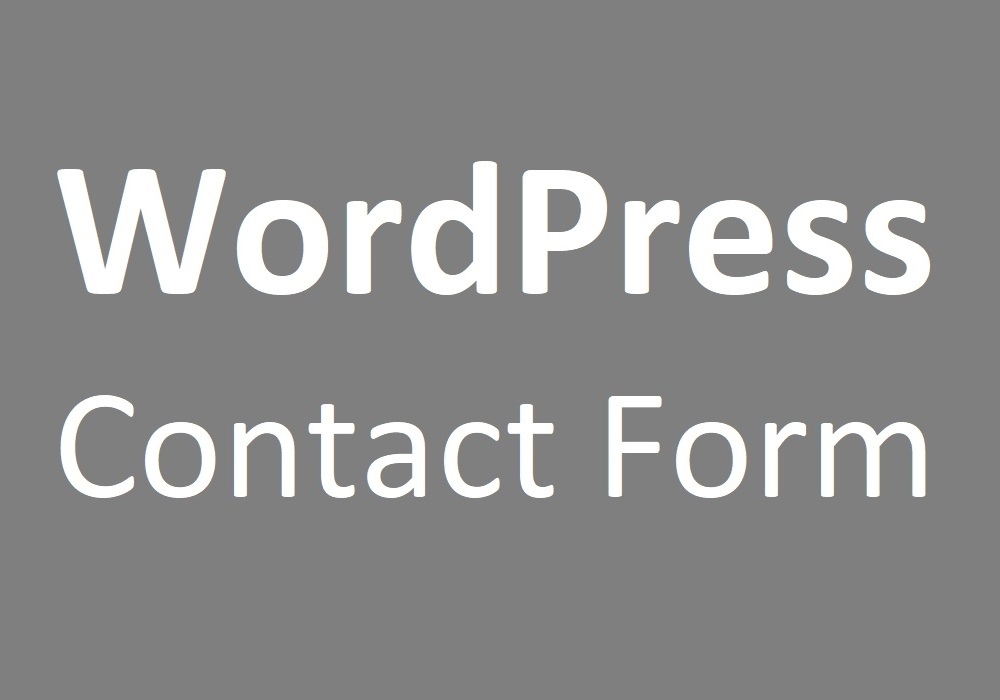 Create and Configure Working WordPress Contact Form