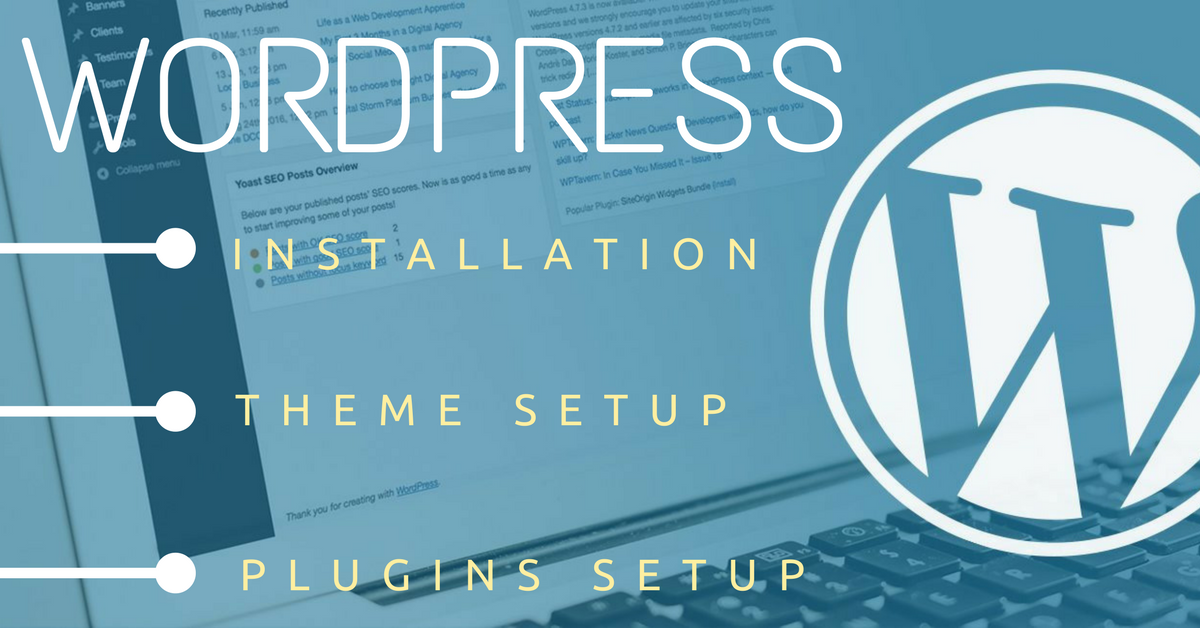 Install Wordpress Theme Demo