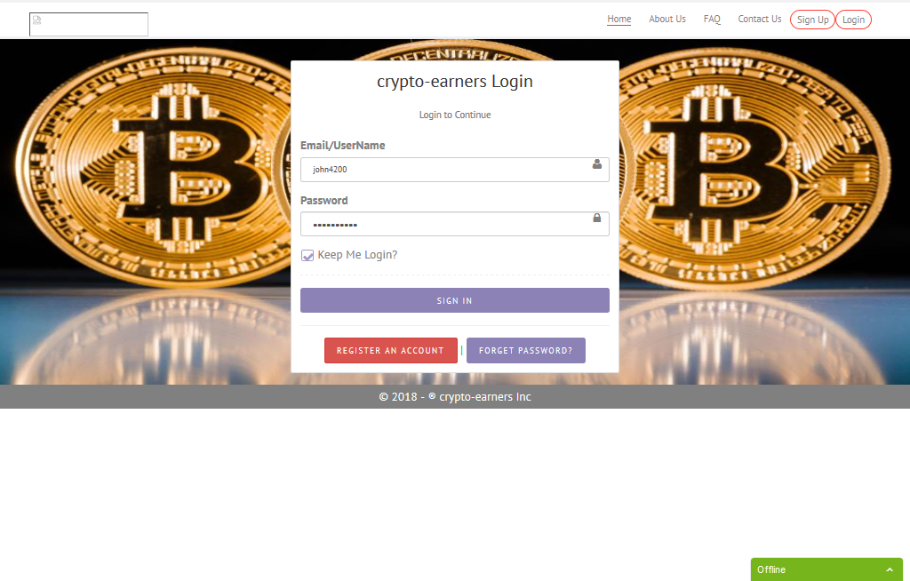 P2p crowd funding donation script with Btc, ETH & TBC payment system.