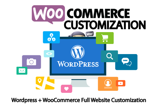 I will do wordpress and woocommerce customization with pro support