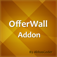 OfferWall Postback Addon for AnyScript