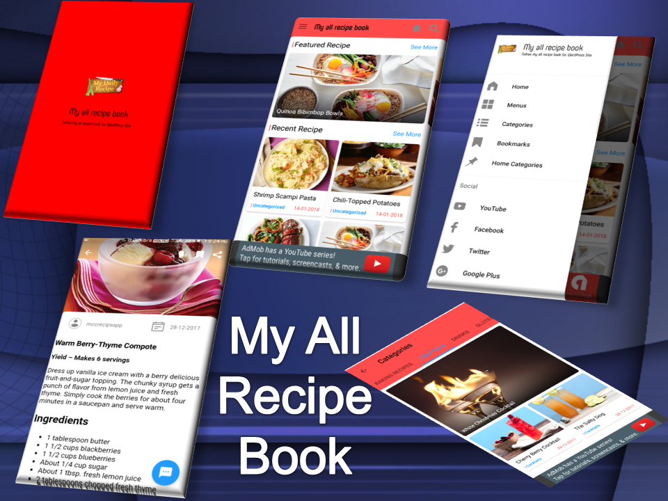 My all recipe book for android
