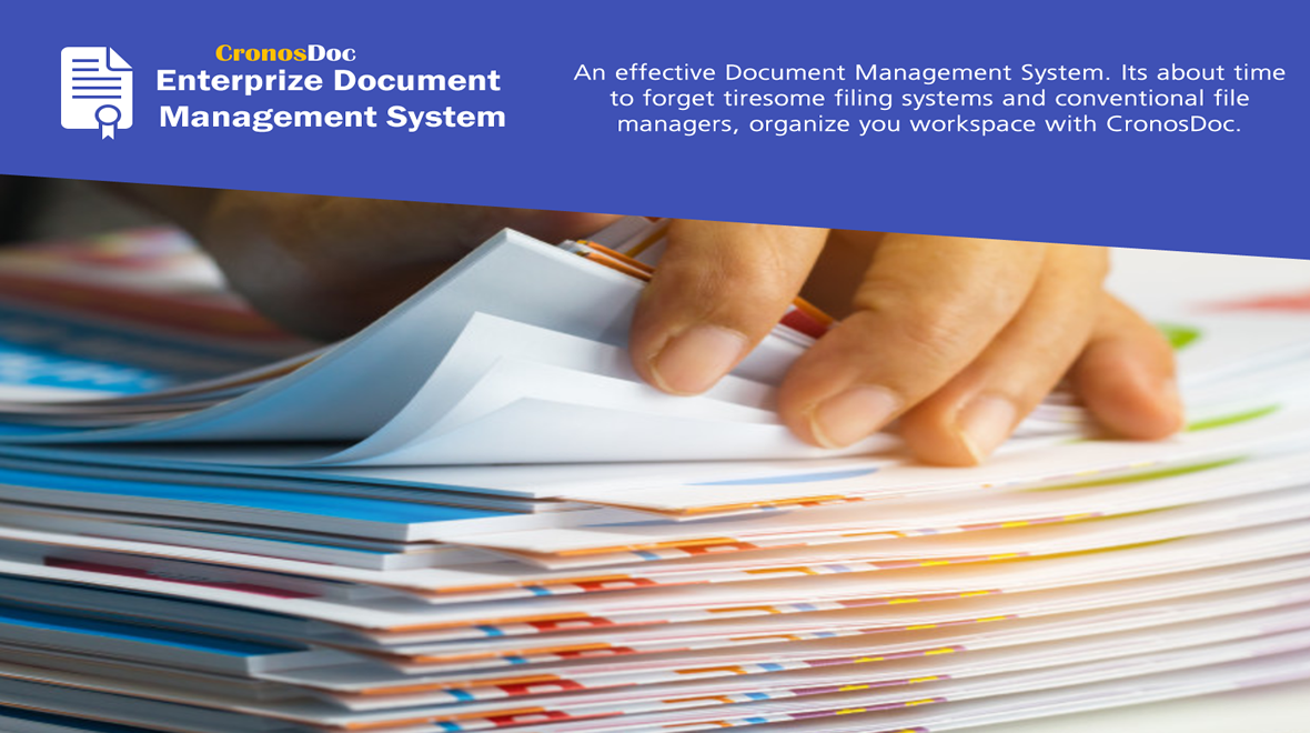 CronsDoC Electronic Document Management System