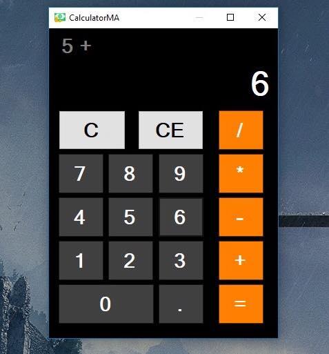 CalculatorMA