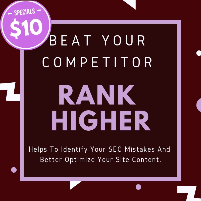 Know your Competitors SEO Mistakes! Rank your Website Fast!