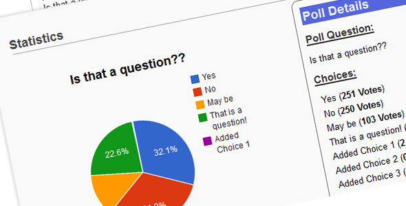 Easy PHP Polling System