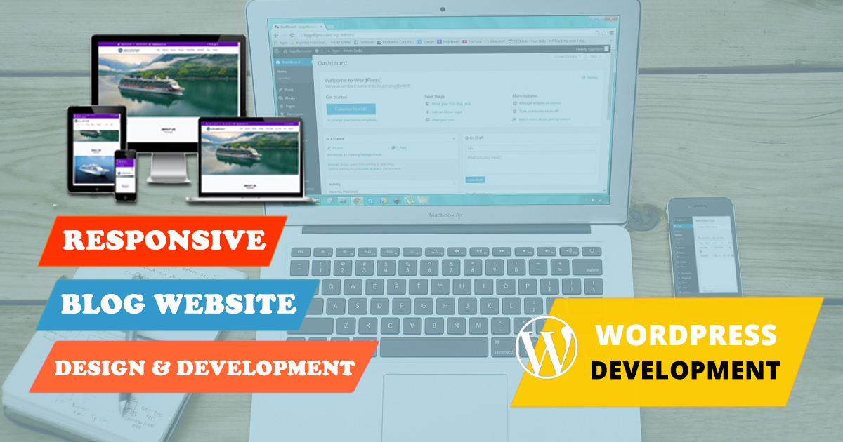 create professional WordPress website for business
