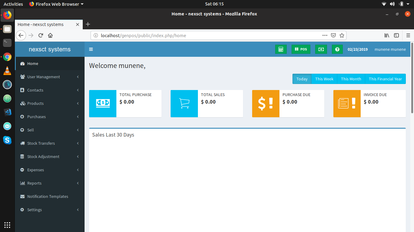 powerful invoicing,stock management and Point of Sale software