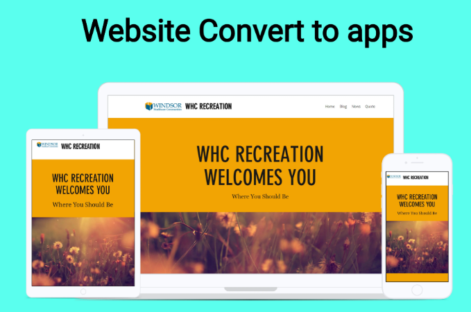 Convert Your Website To Android App Or IOS App