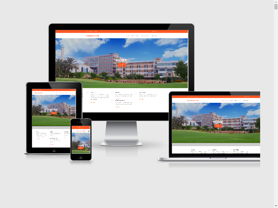 Business Website Theme With Dashboard
