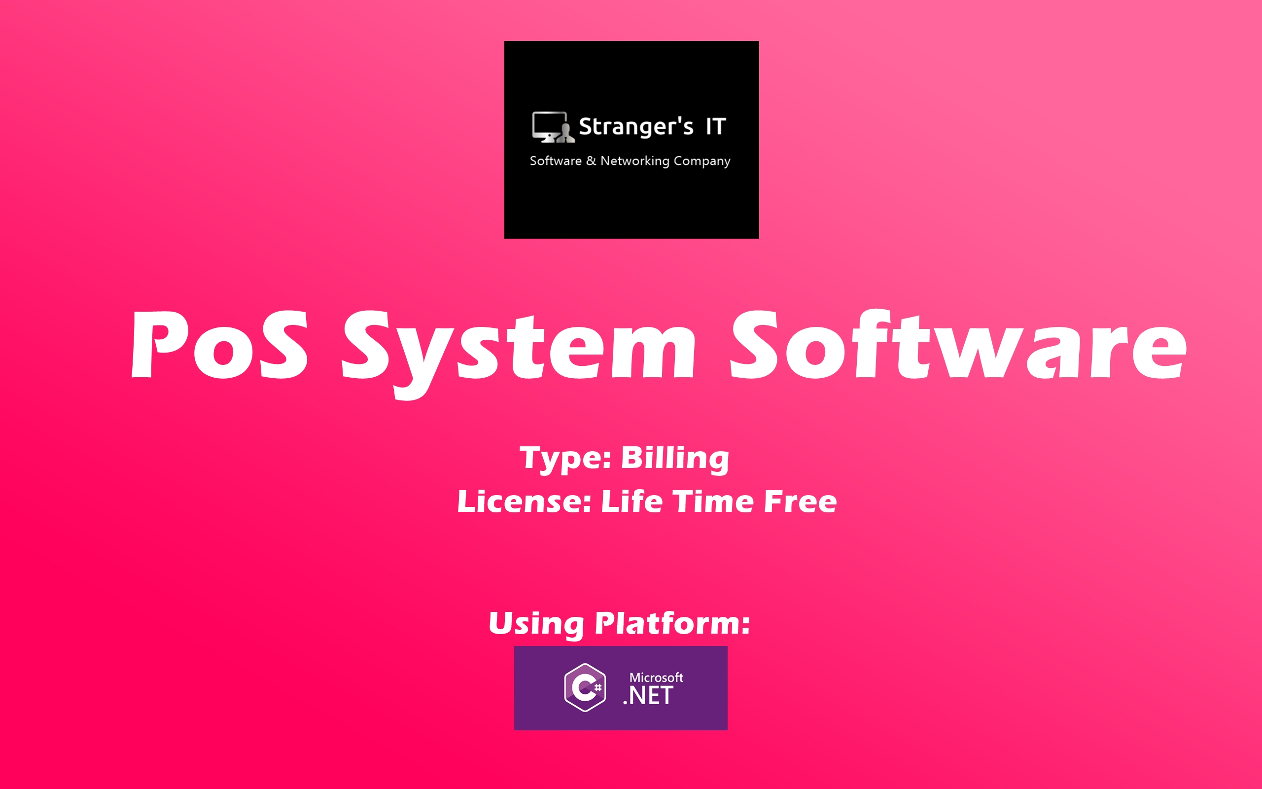 Create PoS System Software (point of sale system software) for your Enterprise