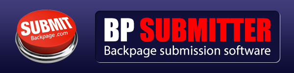 Submit to 500 cities in backpage. com with simple clicks