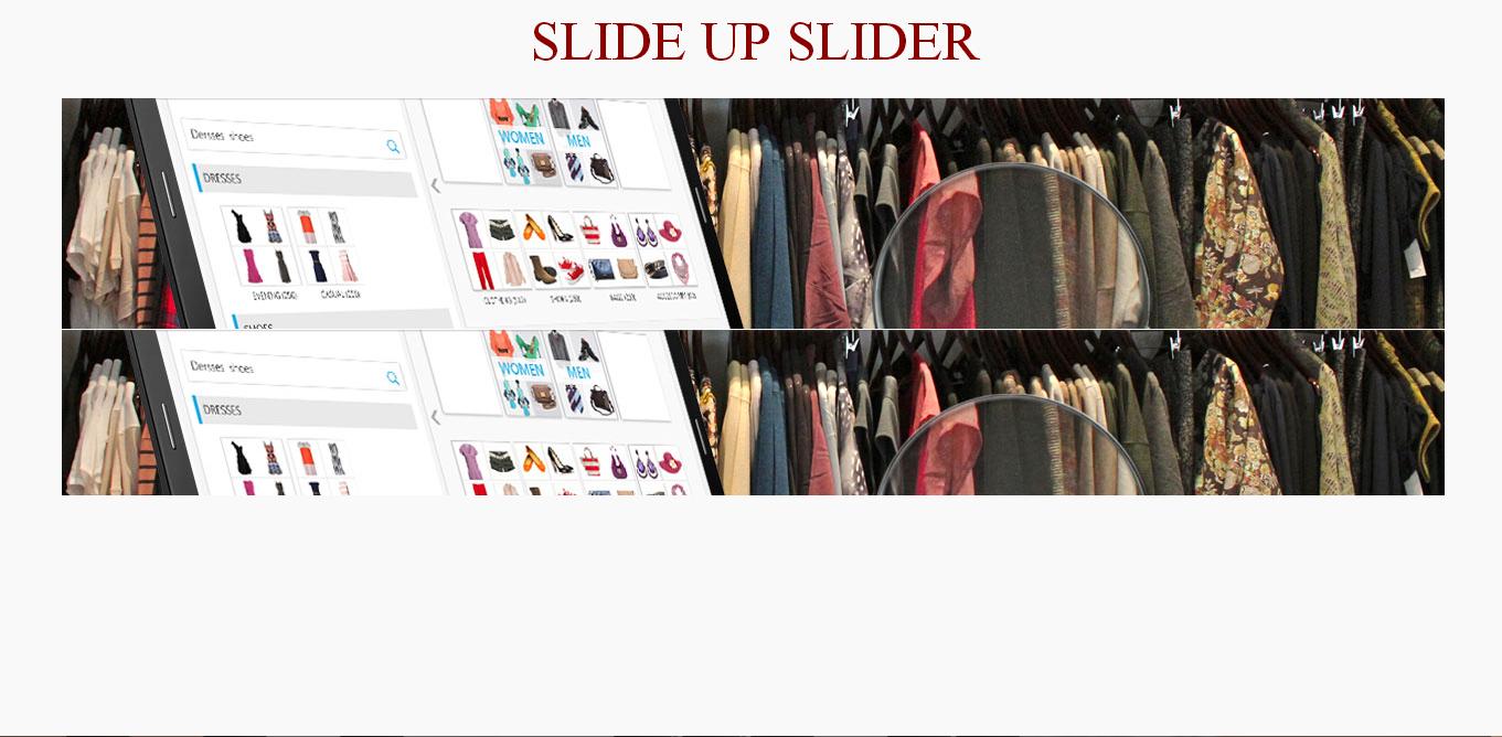 Slide Up Slider