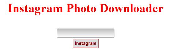 Instagram Media Link Lister