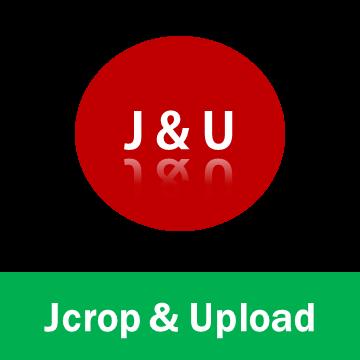 Jcrop & Upload