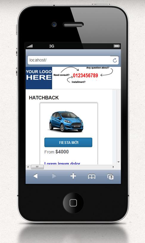 Automotive Car Dealer PHP script - light and fast