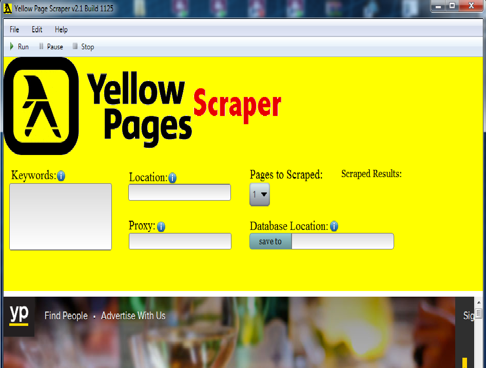 Yellow Page Scraper Buy and Resell