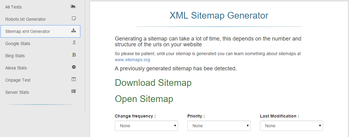S.E.O Helper Sitemap, Robots. Txt Generator For $19