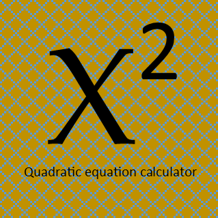 quadratic equation calculator c