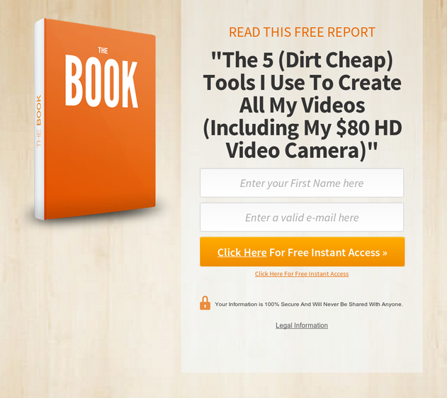 165+ Highly Converting Landing & Squeeze Pages