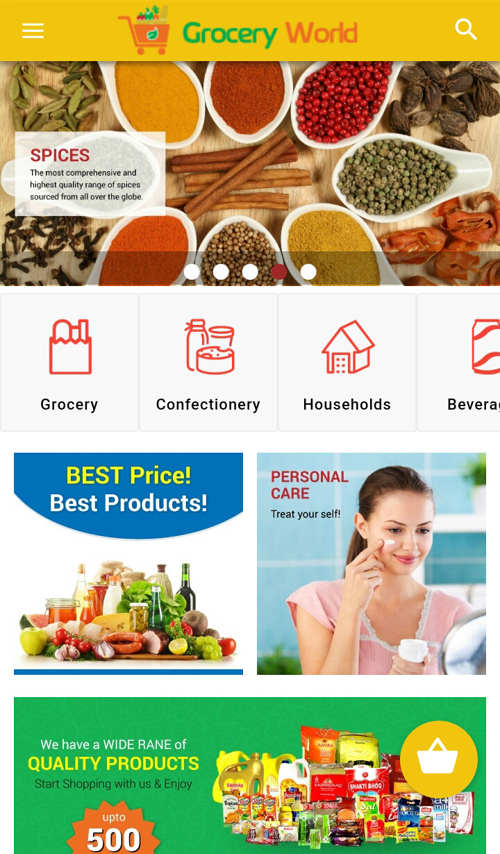 grocery store template for 24 codeclerks