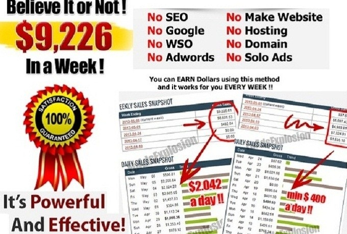 Get My 2016 Super Clickbank Shocking Method
