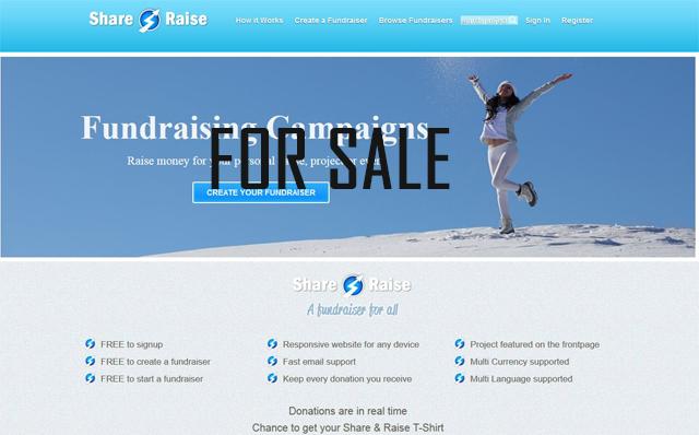 Selling Crowdfunding platform website + script
