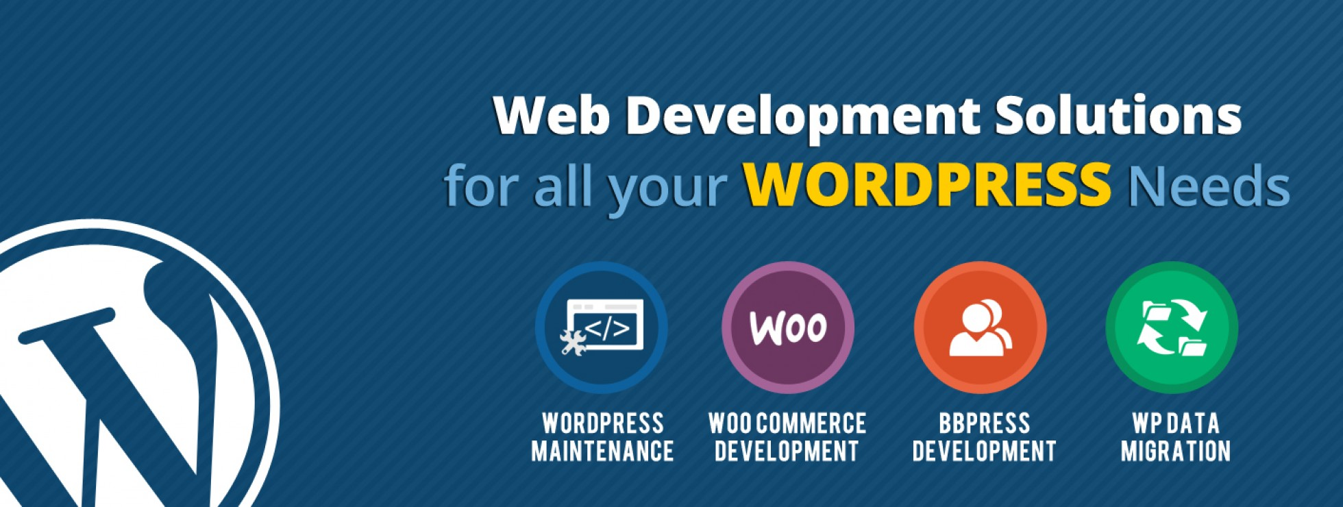 Wordpress web development services and code issues fixing