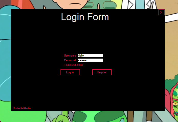 Login and Registration Using C Sharp, PHP, MYSQLi
