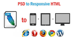 Convert PSD to HTML with responsive & W3c code rule