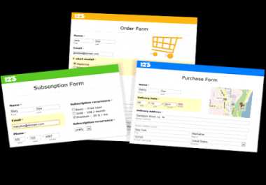 Html booking form with paay pal