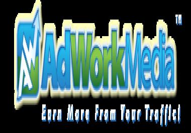 I need account in adworkmedia. com
