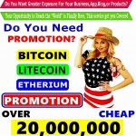 BITCOIN SEO Services PROMOTION - PROMOTE ALL Cryptocurrency Offer On Social Media Over 50 MILLION