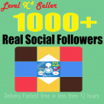 Get Real 1,000+ Folowers on your profile