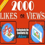 Get Instant 2000 Likes Or 2000 Views In Your Social Media Posts
