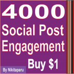 Instant 4000 social post Love Or views