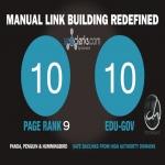 10 PR9 Backlinks and 10. Edu/. Gov Backlinks only