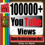 Fast 100,000+ Bonus HQ Non Drop and Life Time Guaranty Views for Your Video