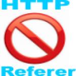 Hide HTTP Referer Header Script