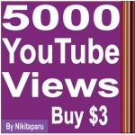 Super fast HQ 7000+ YouTube views high retention