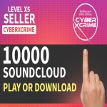 I will give you 100-10000 Soundcloud Play To Your Tracks within 24hrs