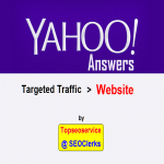 Updated on 2018 - Promote your website with Yahoo Answers