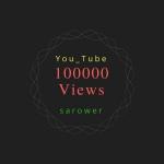 Add 100000 100k You Tube V. iews Fast Service