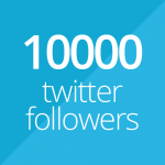 10000 followers