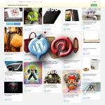Pinterest Clone WordPress Theme - Professional Photo Gallery