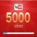 Add over 5,000+ YOU-TUBE Views High quality