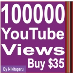 Provide you 100,000+ Non Drop youtube views